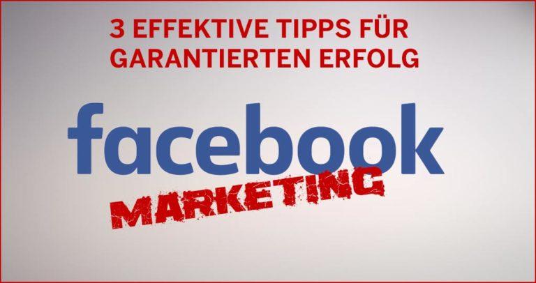 Tipps zum Erfolg auf Facebook. Facebook Fans bekommen!