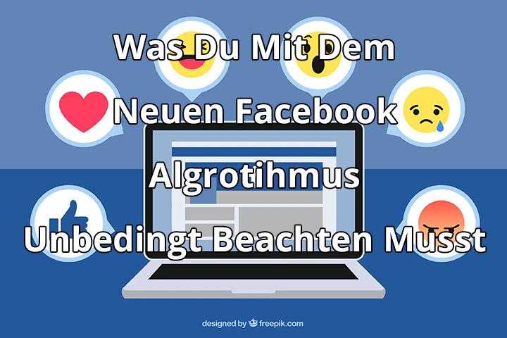 Was du mit dem Neuen Facebook Algorithmus unbedingt beachten musst. Copyright by freepic.com, Designed by Freepik