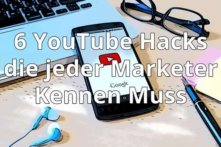 Die besten Youtube Hacks für mehr wachstum
